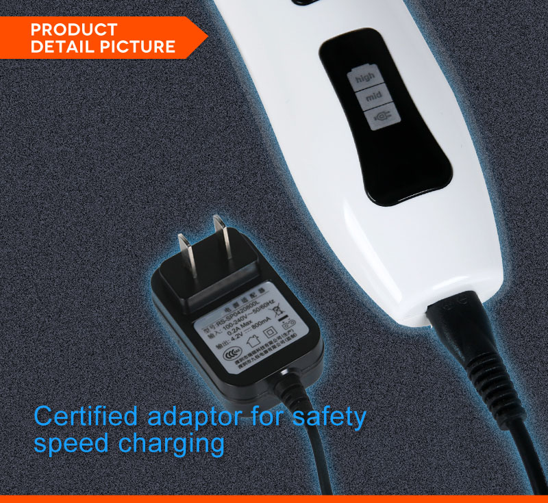 pet hair clipper PHC920 certified adapter charger