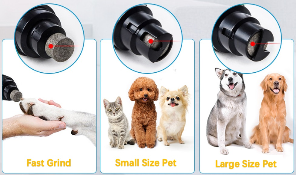 pet nail grinder suit for all size pet